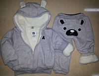 Детские тёплые костюмы на меху, меховушка Gap, Гап для мальчика и девочки с 1 года до 6 лет