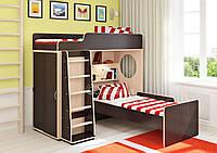 Детская двухъярусная кровать  Boys угловая