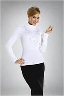 Блузка-гольф женская под горло Eldar с длинным рукавом (деловая, офисная одежда)