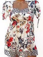 Летние женские блузки (в расцветках 38-42)