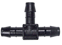 Разветвитель (тройник) 8мм-8мм-8мм + заглушка BLUMAT  8мм (по 2 шт. каждого)