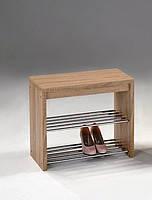 Полка для обуви, натуральная
