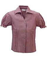 Детская блуза с коротким рукавом. Размер 122