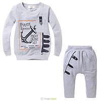 Трикотажный костюм для мальчика 1-2 лет