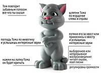Многофункциональный кот Talking Tom повторяет речь, сказки, песни, скороговорки