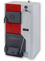 Чугунные твердотопливные котлы Viadrus U 24 с ручной загрузкой от 17 до 74 кВт
