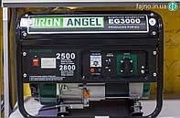 Бензиновый генератор Iron Angel EG3000 (2,8 кВт), фото 1