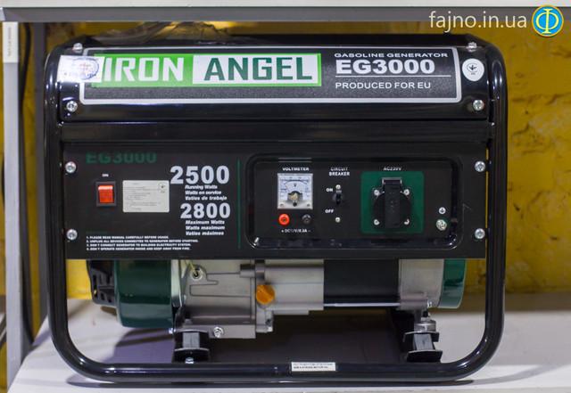 Генератор Iron Angel 3000 фото 1