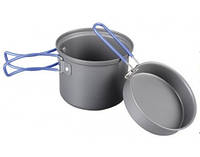Котелок с крышкой сковородой 2 в 1 Tramp TRC-039