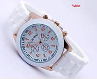 Женские часы GENEVA ЖЕНЕВА белые