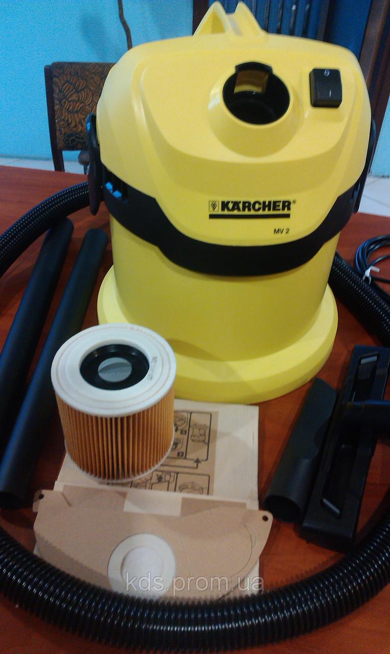 Как сделать влажную уборку с пылесосом керхер