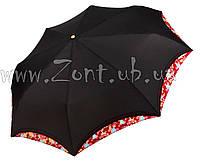 Женский зонт Три Слона Кимоно черный ( полный автомат ) арт.210-10