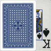 Игральные карты с пластиковым покрытием Poker 25-1
