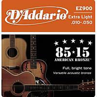 D'Addario EZ900 комплект струн для акустической гитары 10-50
