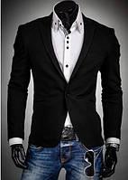 Пиджак мужской Латки черный цвет