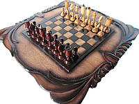 Шахматы резные с нардами