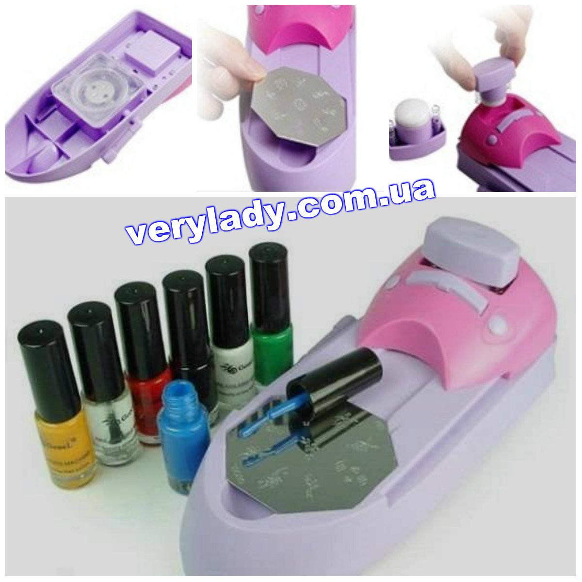Modern Nail Stamping Machine Gift - Nail Art Ideas - morihati.com