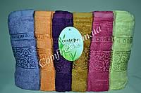 Набор махровых банных полотенец Cestepe Premium Bamboo b-057 Бамбук 70х140см. (6шт.) - Турция