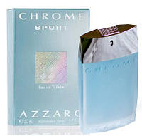 Azzaro Chrom Sport 100ml. Туалетная вода Оригинал