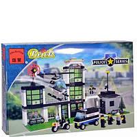 Конструктор Brick Полицейский участок 110