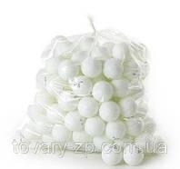 Теннисные шарики для настольного пинг понга 40мм 144шт MS 0136