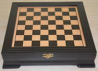 Шахматы деревянные (25х25х6 см.)