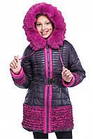 Зимняя курточка с мехом, фото 1