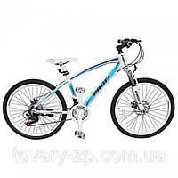 Велосипед спортивный 24 дюйма двухколесный Profi EXPERT бирюзовый