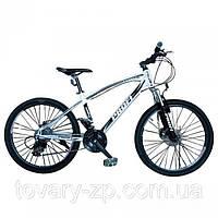 Велосипед спортивный двухколесный 24 дюйма Profi EXPERT черный