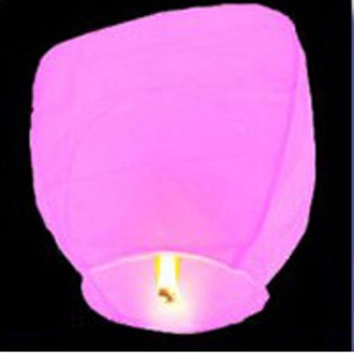 Небесные фонарики купол розовый , воздушные фонарики , китайские фонарики