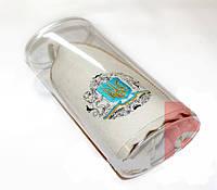 Шапка для сауны (светло-серый войлок) в упаковке, 100% шерсть