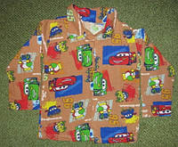 Рубашка для мальчика на байке. Размер: 32-34