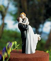 """Свадебная фигурка на торт """"Жених и невеста"""", оригинальные и красивые свадебные статуэтки"""