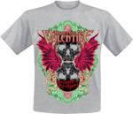 "Bullet For My Valentine ""Temper Temper"" (меланж) рок футболка"