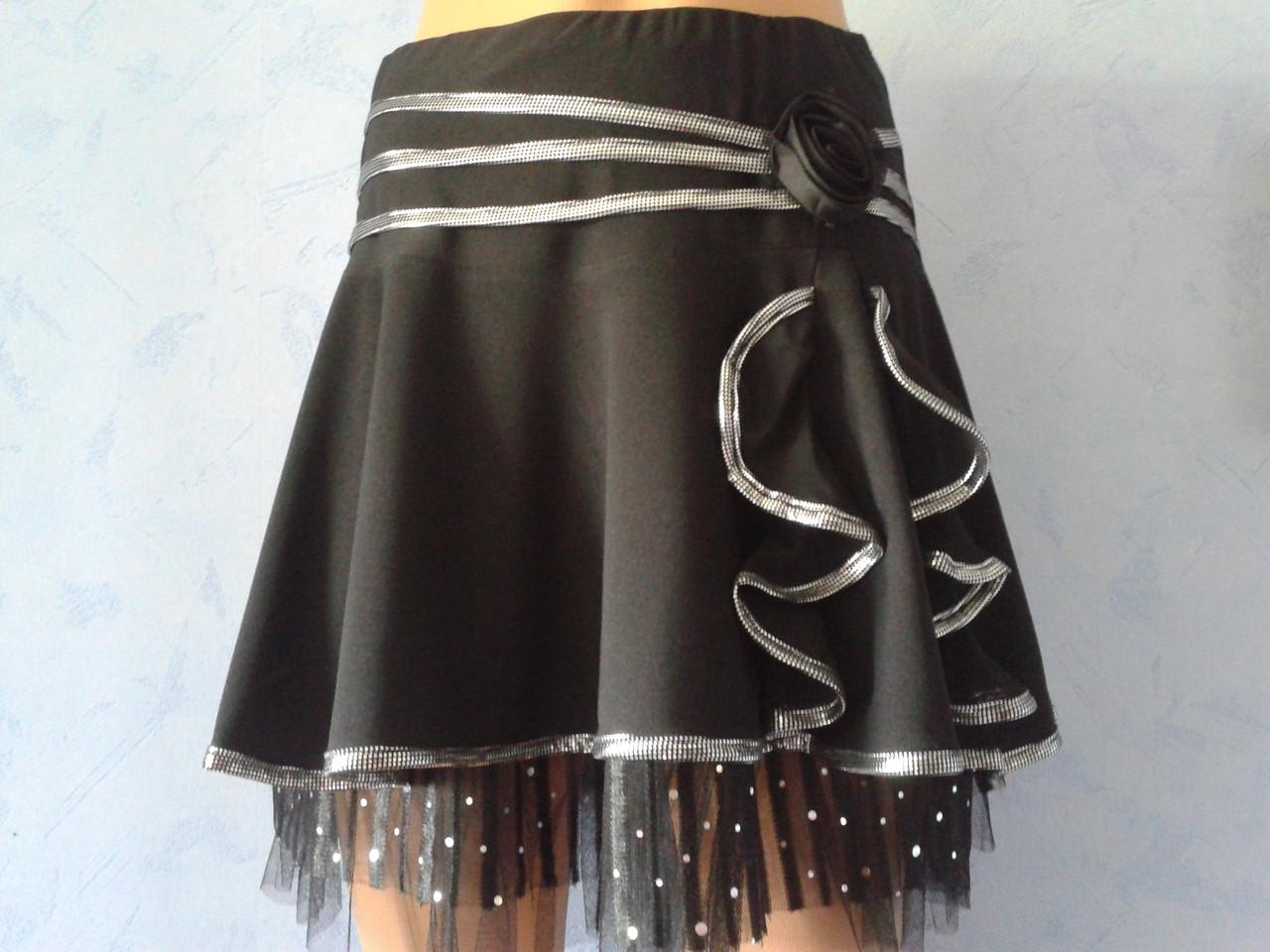 Трикотажная юбка купить
