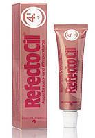 RefectoCil №4.1 Red - краска для бровей и ресниц (красная), 15мл
