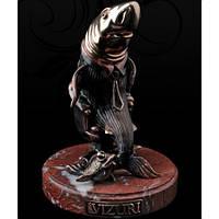 """Акула Бизнеса"" статуэтка из бронзы"