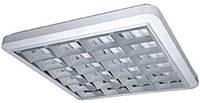 Растровые светильники наружные (накладные) 4х18