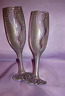 Свадебные бокалы феерия