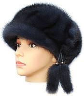 Кепка меховая женская,кепка ровная (ирис)