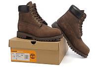Ботинки Timberland 6 inch Brown Boots женские Оригинал. тимберленды женские зимние, ботинки женские