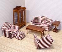 Мебель для домика Гостиная комната ТМ Melissa&Doug