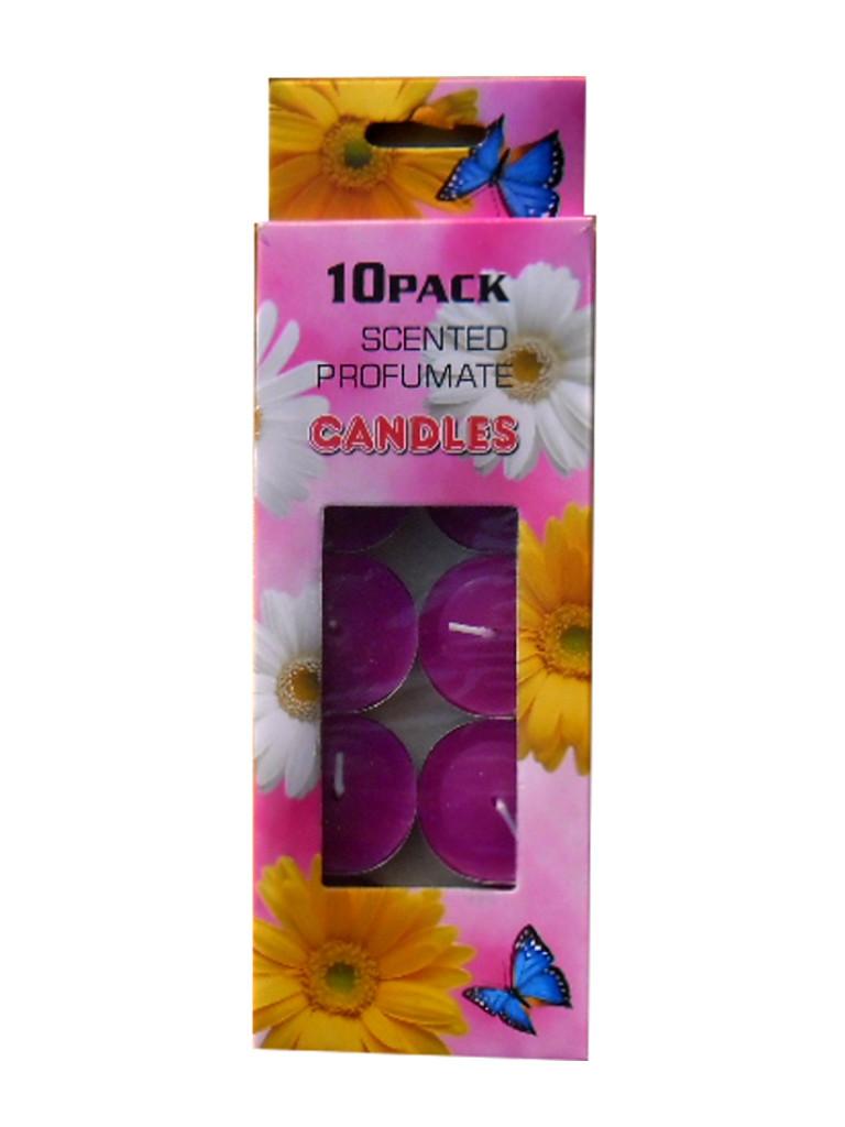 """Свечи ароматизированные плавающие """"Цветочные"""" (10 штук)"""