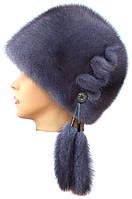 Норковая Конфетка (серо-голубая)