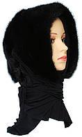 Женская норковая Косынка (черная)