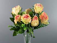 Искусственный букет розовых роз