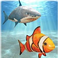 Air Swimmers - Летающие рыбки (Nemo)