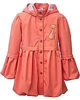 Куртка - ветровка для девочки Китти коралловый. Размер 98 - 110 см
