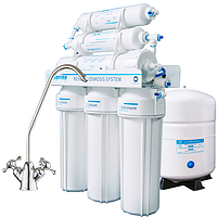 Системы обратного осмоса для очистки воды BlueSpring RO-6 с минерализатором