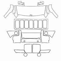 Стандартный набор для Jeep Commander